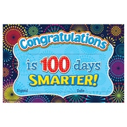 Teacher Created Resources Fireworks Congratulations is 100 Days Smarter Award