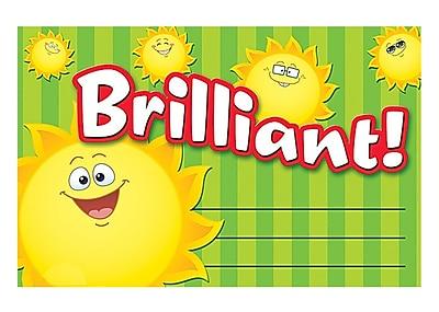 Teacher Created Resources Happy Suns Brilliant Award