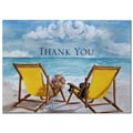 HBH™ 3 1/2in. x 4 7/8in. Seaside Jewels Wedding Thank You Card, 50/Pack