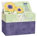 LANG® 4 7/8in. x 6 3/4in. Recipe Card Box, Daisy