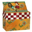 LANG® 4 7/8in. x 6 3/4in. Recipe Card Box, Kitchen Whimsy