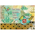 LANG® Petite Note Card, Take Flight