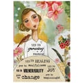 LANG® Petite Note Card, Yes To Growing
