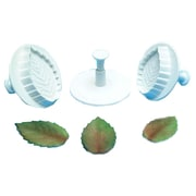 PME  Plastic Rose Leaf Plunger Cutter Set Small