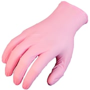 Showa Best® Glove N-DEX® BWC™ 300W Pink Disposable Gloves, XL