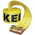Keeper® 30' Winch Strap With Flat Hooks
