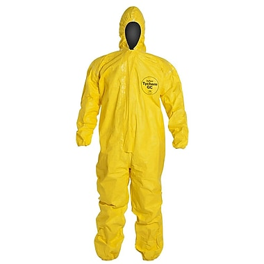 Dupont™ Tychem® QC122S Yellow Light Splash Protective Coveralls