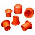 Mutual Industries OSHA Rebar Caps, Orange, Large