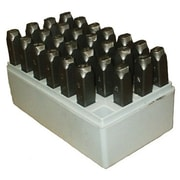 C.H. Hanson® 36 Pieces Heavy Duty Steel Hand Stamp Set, 1/4""