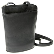 Royce Leather Crossbody Bag, Black