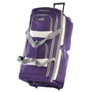 """Olympia Polyester 8-pocket Rolling Upright Duffel Bag 29"""""""