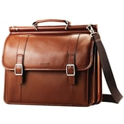 Samsonite Leather Flapover Business Case 16""