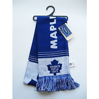KDI Team Stripe Scarf, Toronto Maple Leafs