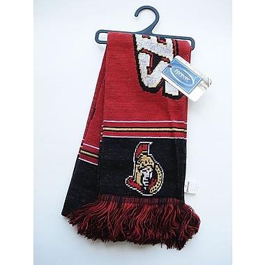 KDI Team Stripe Scarf, Ottawa Senators