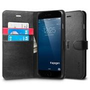 Spigen iPhone 6 (5.5) Wallet S Black(PET)