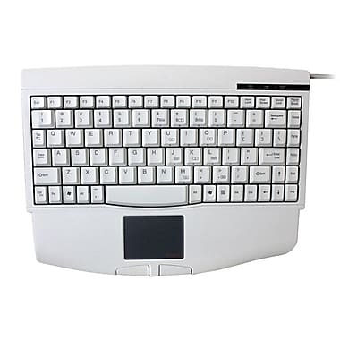 Adesso Mini Touchpad Keyboard, White