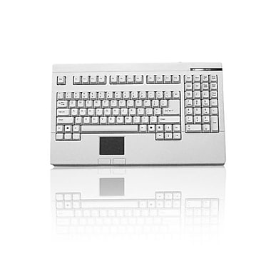 Adesso EasyTouch 730, Touchpad Keyboard (White PS/2)