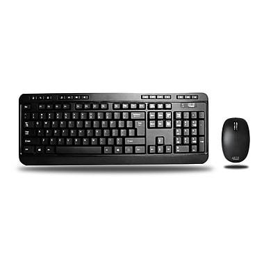 Adesso – Clavier et souris de bureau sans fil 2,4 GHz, EasyTouch 1300