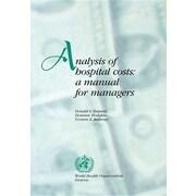 "World Health Organization ""Analysis of Hospital Costs"" Book"