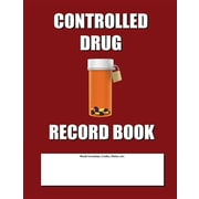 "Createspace ""Controlled Drug Record Book"" Book"