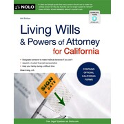 "Nolo ""Living Wills and Powers of Attorney for California"" Book"