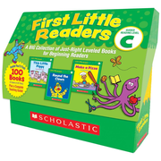 First Little Readers: Guided Reading Level C: A Big Collection of Just-Right Leveled Books for Beginning Readers