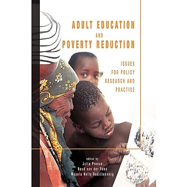adult education and poverty reduction These twin areas of human development must become central to the sirleaf administration's poverty reduction  of poverty children's education and adult.
