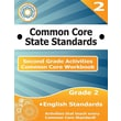Second Grade Common Core Workbook: English Activities