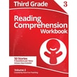 Third Grade Reading Comprehension Workbook: Volume 2