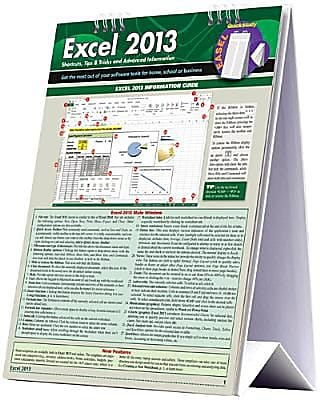 Excel 2013 (Quick Study Easel) 1425613