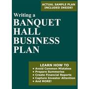 Writing a Banquet Hall Business Plan