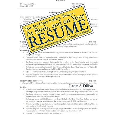 Write your perfect resume