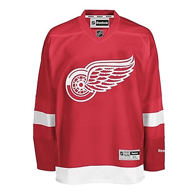 Reebok Detroit Red Wings, Premier Home Jerseys