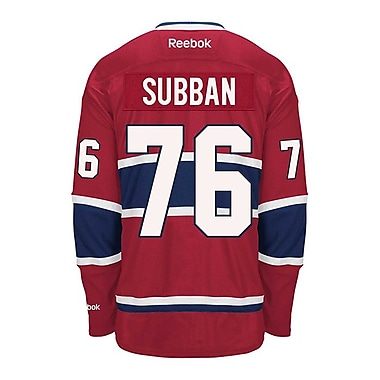 Reebok P.K. Subban Montreal Canadiens, Premier Home Jersey, Small