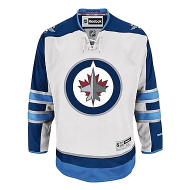 Reebok Winnipeg Jets, Premier Away Jersey, Small