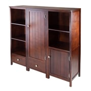 Winsome Pantry Cupboard, Antique Walnut (94371)