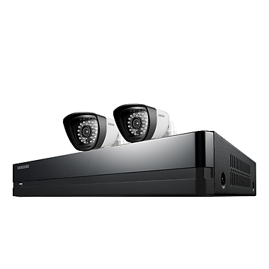 Samsung SDS-P3022 4-Channel Security Kit with 2 Cameras