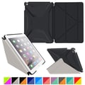 roocase Origami 3D Slim Shell Case for iPad Air 2, Granite Black / Cool Gray