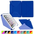 roocase Origami 3D Slim Shell Case for iPad Air 2, Palatinate Blue / Aruba Blue