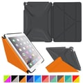 roocase Origami 3D Slim Shell Case for iPad Air 2, Space Gray / roocase Orange
