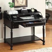 Hokku Designs Lincoln Secretary Desk; Black