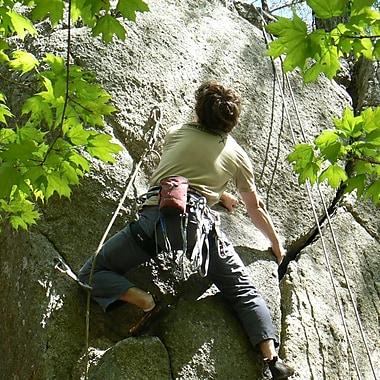Rock Climbing Initiation for 2 Experience, Sherbrooke, QC