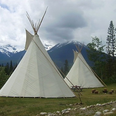 Night In a Teepee Experience, Valemount, BC