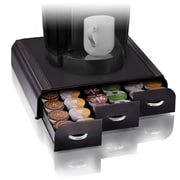 Mind Reader Anchor Coffee Pod Storage Drawer For 36 K-Cup, Black