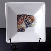 Kim Rody Creations Turtle Bling Square Condiment Server