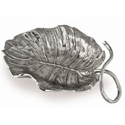 Star Home Tropical Leaves Palm Leaf Platter