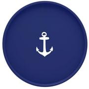 Kraftware Anchor 16'' Round Serving Tray