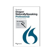 Nuance® Dragon NaturallySpeaking v.13.0 Professional Software W/BLTH HDST, 1 User, Windows, DVD-ROM