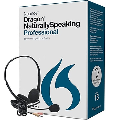 Nuance Communications A209A S00 13.0 Dragon NaturallySpeaking Professional v.13