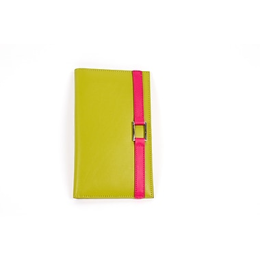 RKW Collection Genuine Leather Agenda Cover, Meadow Green